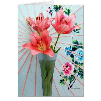 Dream lily III Card