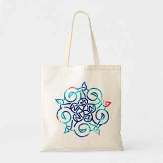 Dream Linear Celtic Knot Tote Budget Tote Bag