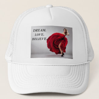 DREAM.LOVE.BELIEVE TRUCKER HAT