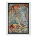 Dream-Love by Florence Harrison Poster