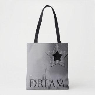 Dream New York City Star Tote Bag