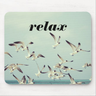 Dream of a Relaxing Beach Vacation Mouse Pad