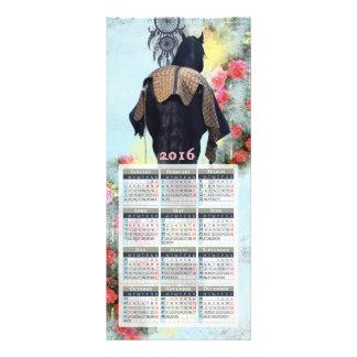 Dream Of Roses - Calendar Card Full Colour Rack Card