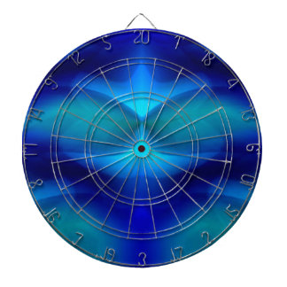 Dream of the Blue Turtle Dartboard With Darts