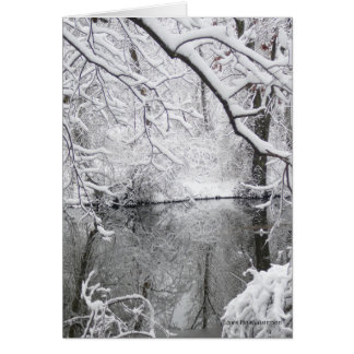 Dream of Winter Greeting Card