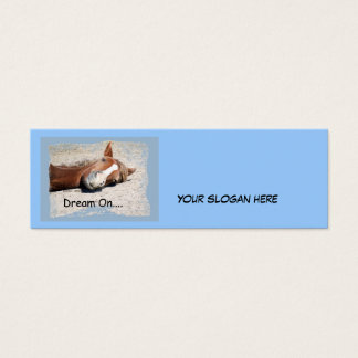 Dream On Bookmark  Business Card