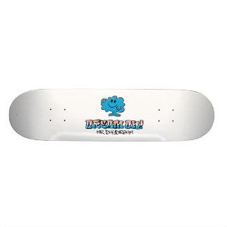 Dream On With Mr. Daydream 21.6 Cm Old School Skateboard Deck