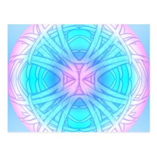 Dream Orb Mandala Postcard