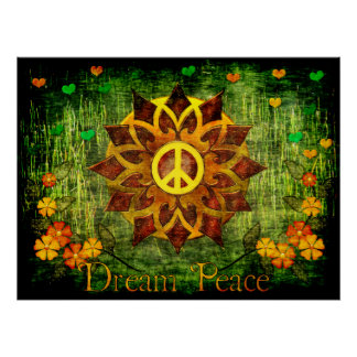 Dream Peace Poster