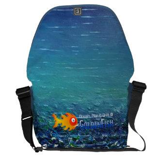 Dream, Plan & Dive © - Large Messenger Bag