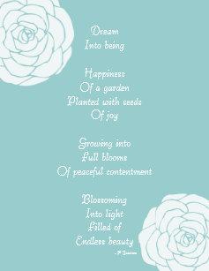 the white rose poem