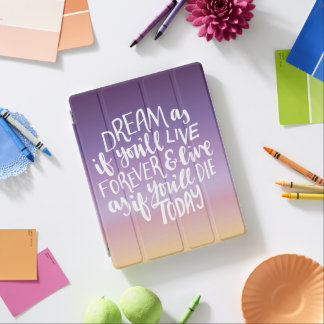 Dream Quote iPad 2/3/4 Smart Cover iPad Cover