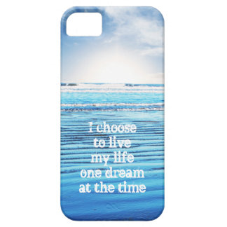 Dream quote life inspiration hope background case for the iPhone 5