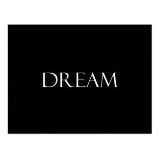 Dream Quotes Inspirational Quote Postcard