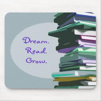 Dream.Read.Grow. Mousepad