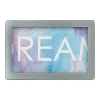 Dream Rectangular Belt Buckles