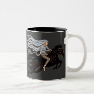 Dream Rider Two-Tone Coffee Mug