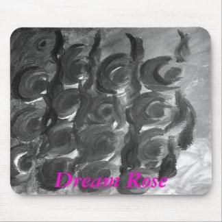 Dream Rose mouse pad Mousepads