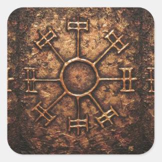 Dream Rune Square Sticker