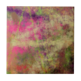 Dream Scope Color Abstract Art on GIFTS NavinJoshi Ceramic Tile