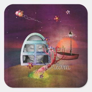 Dream Scrap Photo Frame Sticker