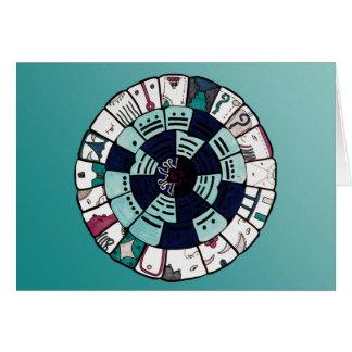 Dream Series:Mayan Calendar Card