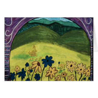 Dream Series: The Flowers  Card