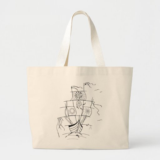 Dream Ship Tote Bags
