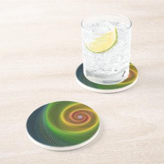 Dream spiral drink coaster