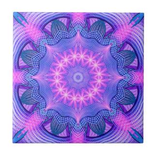 Dream Star Mandala Ceramic Tile