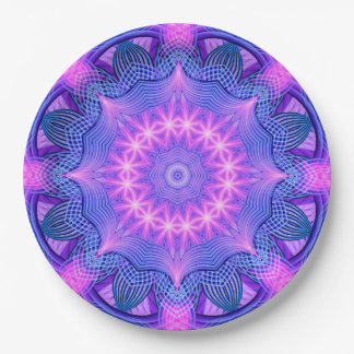 Dream Star Mandala Paper Plate
