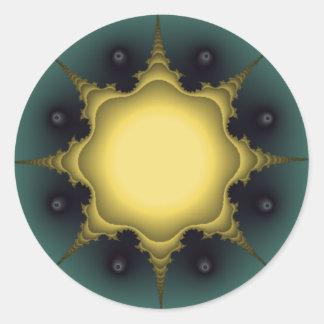 dream star round sticker