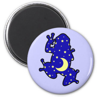 Dream Time Frog 6 Cm Round Magnet