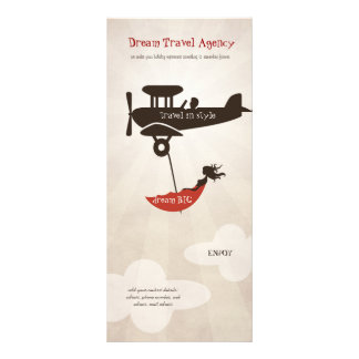 Dream Travel Agency rack card