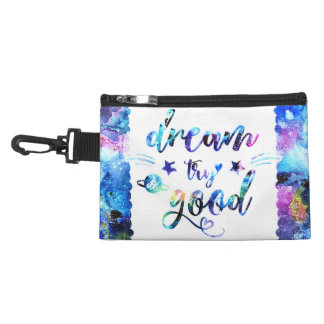 Dream. Try. Do Good. Accessory Bag