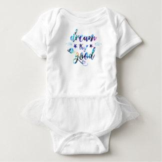 Dream. Try. Do Good. Baby Bodysuit
