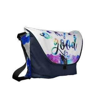 Dream. Try. Do Good. Commuter Bag