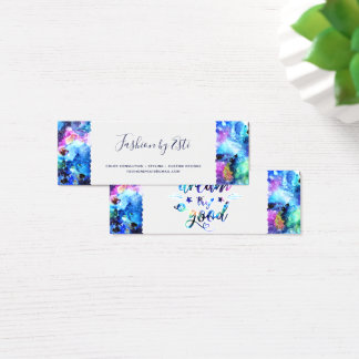 Dream. Try. Do Good. Mini Business Card