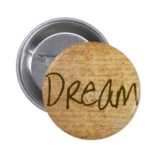 Dream - Vintage 6 Cm Round Badge