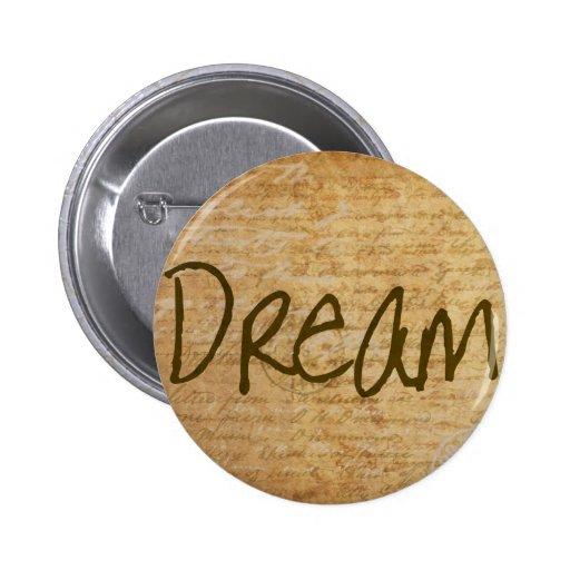 Dream - Vintage Buttons