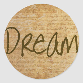 Dream Vintage Stickers