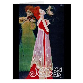 Dream Waltz 1910 Card