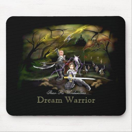 Dream Warrior Novel Mousepad