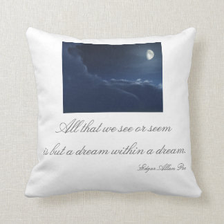 Dream within a dream pillow