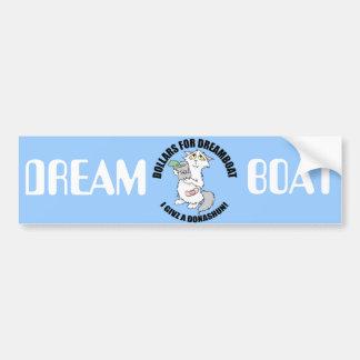 Dreamboat - Dollars for Dreamboat bumper sticker