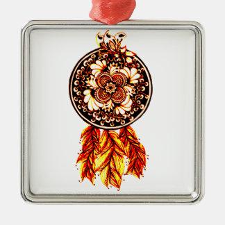 Dreamcatcher 2 metal ornament