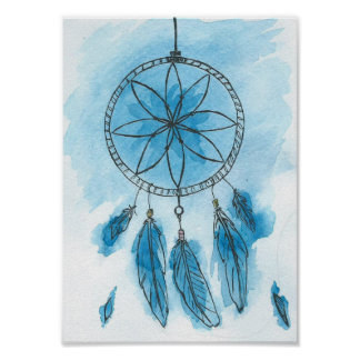 "Dreamcatcher ""Blue Sky"" Poster"