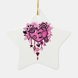 Dreamcatcher Ceramic Ornament