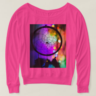 Dreamcatcher Colorful Bokeh T-Shirt