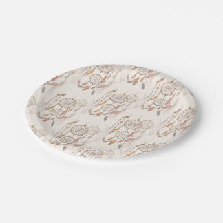 "Dreamcatcher Custom Paper Plates 7"""